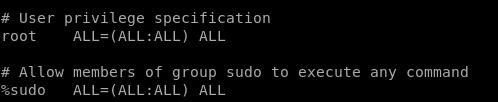 SUDO (administra sin ser root)