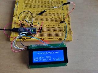 Medidor de resistencias en Arduino